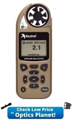 Kestrel 5700 Ballistics Weather Meter with LiNK 0857BLTAN