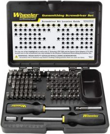 Wheeler Deluxe Gunsmithing Screwdriver 89 Pc. Set