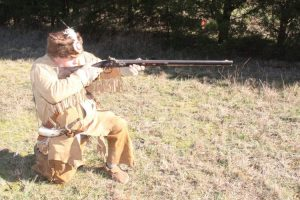 flintlock rifles required frequent cleaning