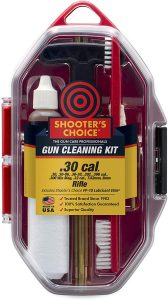 Shooter's Choice Sectional Gun Rod Cleaning Kit .30 cal in case