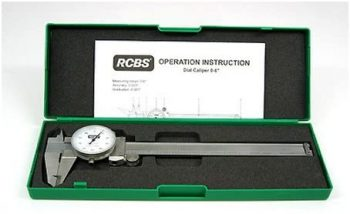 RCBS 87305 Stainless Steel Dial Caliper