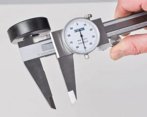 Fowler 52-008-706-0 Stainless Steel Dial Caliper can be used for precise inside measurements