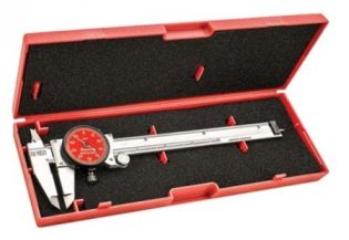 Starrett R120A-6 Stainless Steel Dial Caliper jaws are micro lapped for absolute parallelism and unrivled accuracy