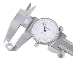 Accusize Industrial Tools P920-S236 Precision Stainless Steel Dial Caliper features independent Inch and Metric measuring capability