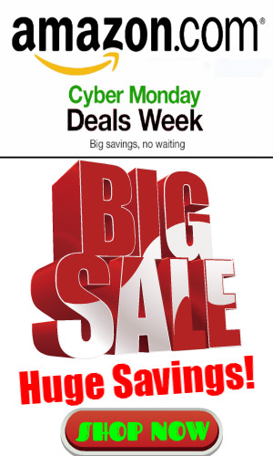 countdown to cyber monday deals week at amazon