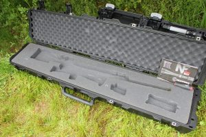 Pelican Storm iM3410 Scoped Single Rifle Hard Shell Case comes with customizable foam