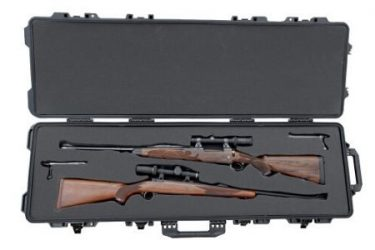 Boyt H51 Hard Sided Double Case with two Scoped Rifle