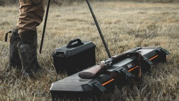 Vault by Pelican V770 Single Rifle Case at the range