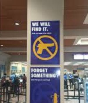 declare your firearm at check in