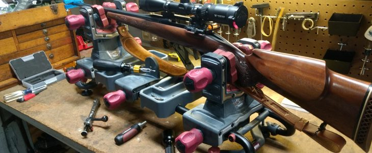 best gun vise for mounting scopes