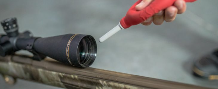 HOW TO CLEAN A RIFLE SCOPE LENS