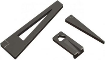Tough Tactical Wedge Leveling Tool Combo for Rifle Scope Mounting