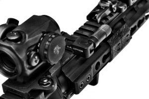 US Optics Swivel Anti-Cant Device mounted on picatinny rail