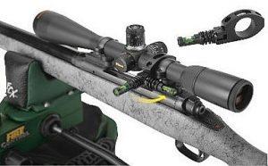 Wheeler Engineering Anti Cant Indicator mounted on rifle scope