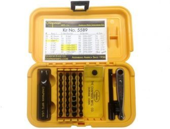 Chapman Mfg #5589 Ultimate Gunsmith Screwdriver & Hand Tool Set