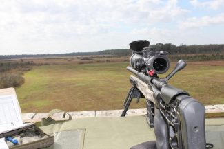 long range shooting with a rangefinder at the Arena, Blakely GA