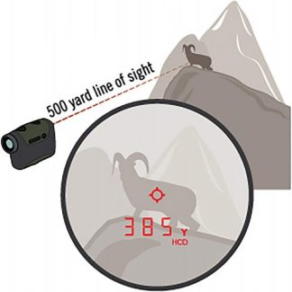 Vortex Optics Razor HD 4000 Laser Rangefinder calculates slope angle for corrected distance to target